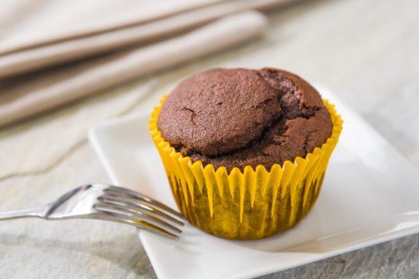 Mini bolo de chocolate