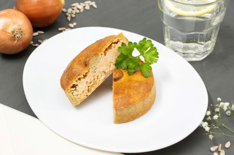 Torta low carb de frango