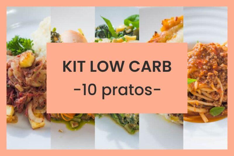 kit low carb 10 pratos