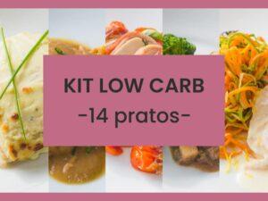 kit low carb 14 pratos