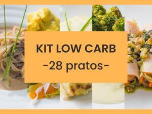 kit low carb 28 pratos