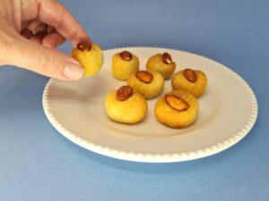 cookie low carb de amêndoas