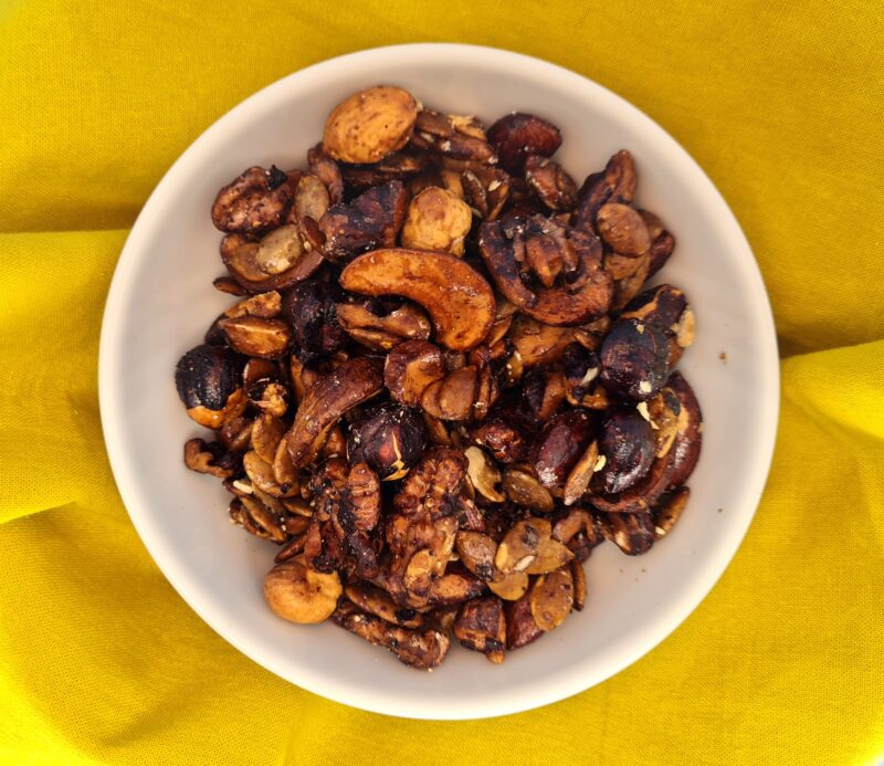 granola doce low carb