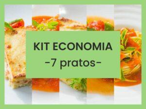 kit economia low carb 7 pratos