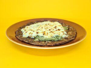 pizza low carb de abobrinha com requeijao