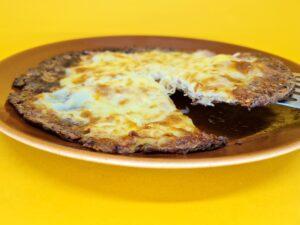 pizza low carb portuguesa