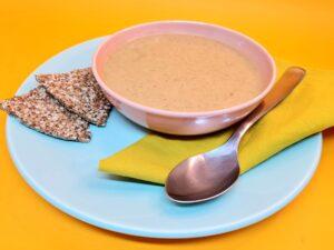sopa de abobrinha low carb
